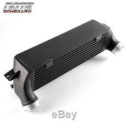 Front Mount Intercooler Kit For BMW E82 E88 135i 1M E90 E92 335i E89 Z4 Black