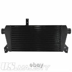 Front Mount Intercooler Kit for Audi A4 1.8T Turbo B6 Quattro 2002-2006 Black