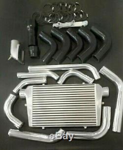 Front Mount Intercooler Kit for Toyota Landcruiser 80 series 1HDFT 24 Valve