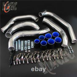 Front Mount Intercooler Pipe Piping Kit For Mazda RX7 RX-7 FC FC3S 13B 86-91