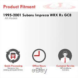 Front Mount Intercooler Piping Kit Upgrade Blue For 1995-2001 Subaru Wrx RS Gc8