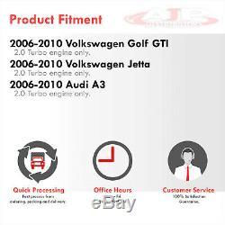 Front Mount Tube & Fin Turbo Intercooler For 2006-2010 VW Golf GTI Jetta 2.0L A3