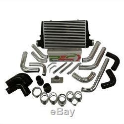 Front Mount V2 Intercooler Kit For Toyota Landcruiser 80 Series 4.2L 1HDT-H, 1HZ