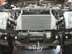 HPD Front Mount Intercooler Kit FIT Mitsubishi Pajero 2008+ Series 2