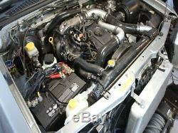 HPD Front Mount Intercooler Kit FIT Nissan Navara D22 3LT ZD30 Series 2