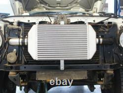 HPD Front Mount Intercooler Kit FOR Nissan Patrol GQ TD42 450mm High Mount Turbo