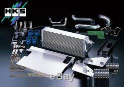 Hks Intercooler Kit R Type V-mount Kit (13001-az004) For Mazda Rx7 Fd Oem Turbo