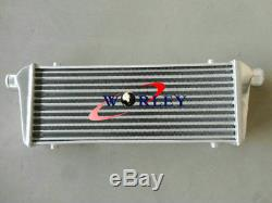 Intercooler 450 X230 X 52mm Front Mount +2.25aluminium piping+BLK Silicone HOSE