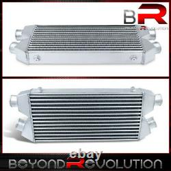 Light Weight Turbo Cooling Intercooler Dual Outlet 30x11x3 Tube & Fin For GMC