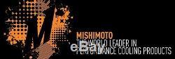 MISHIMOTO Aluminum SILVER Front Mount Intercooler 2003-2006 Mitsubishi EVO 7 8 9