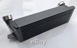 MTEC BMW E90 E91 E92 E93 335d Front Mount Intercooler + Hose Kit Diesel SILVER