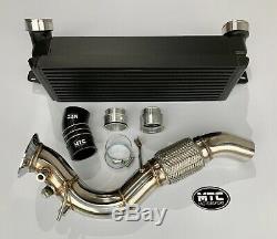 Mtc Mtec Bmw 335d 330d E90-e93 Turbo Front Mount Intercooler, Dpf & Hose Black
