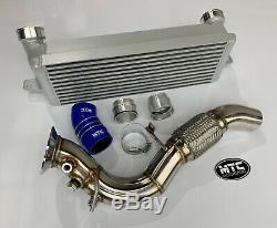 Mtc Mtec Bmw 335d 330d E90-e93 Turbo Front Mount Intercooler, Dpf & Hose Silver