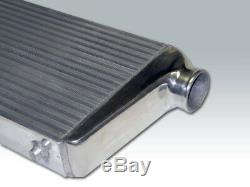 New 32x12x3 Bar&Plate Twin Turbo Front Mount Intercooler Universal Aluminum