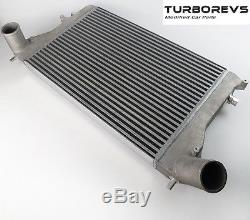 New Large Upgraded Alloy Front Mount Intercooler Kit For Audi A3 Vw Golf Passat
