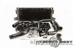 PROCESS WEST Front Mount Intercooler Kit for Subaru 01-07 GD WRX/STI-Black