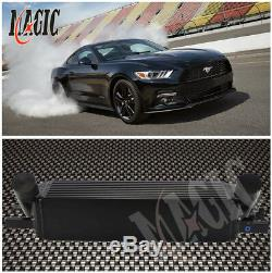 Performance Front Mount Intercooler For Ford Mustang 15-17 EcoBoost 2.3L Turbo