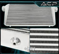 Performance High Flow FMIC Front Mount Intercooler 31X11.75X3 For Genesis 3.8