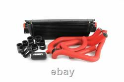 Perrin Front Mount Intercooler FMIC with Boost Pipings for 08-14 STi (Black)