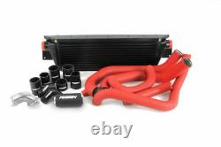 Perrin Front Mount Intercooler FMIC with Boost Pipings for 08-14 WRX (Black)
