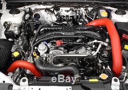 Perrin Performance Front Mount Intercooler 2015-2017 Subaru WRX (Silver/Red)