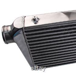 Pour Front Mount Intercooler (FMIC) 600x300x76 Core Inlet/Outlet 3 Universel