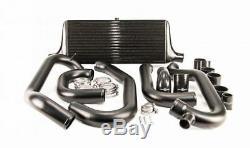 Process West Front Mount Intercooler Kit (suits Subaru 97-00 GC8 WRX/STI) Blac