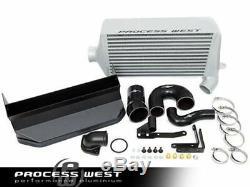 Process West Silver Verticooler Top Mount Intercooler For Subaru WRX 08-14