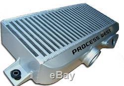 Process West Top Mount Intercooler Kit Silver fits SUBARU STi 2008-2014