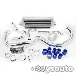 REV9 FMIC Front Mount Intercooler Kit for Subaru WRX STi 02-07 GD EJ20 EJ25