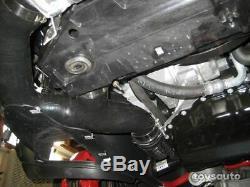 REV9 Front Mount Intercooler Black for Golf GTI MKV MK5 2.0T Turbo FSI 06-09