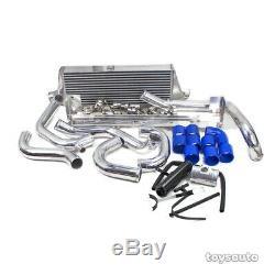 REV9 Gen2 FMIC Front Mount Intercooler Kit for Impreza WRX STi 02-07 EJ20 EJ25