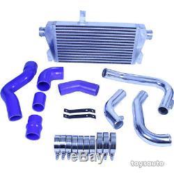 REV9 V2 FMIC Front Mount Intercooler Kit for Audi A4 B6 02-05 1.8T Turbo 400HP