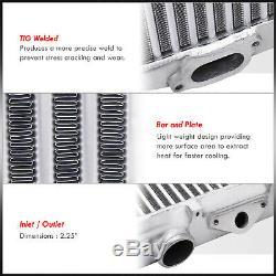 Replacement Core TMIC Top Mount Aluminum Intercooler For 2002-2007 WRX EJ20 EJ25