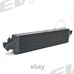 Rev9 FMIC Front Mount Black Intercooler for Honda Civic & Si 1.5L Turbo 16+ New
