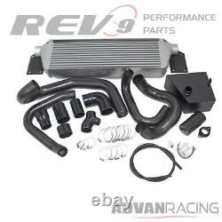 Rev9 Front Mount Intercooler FMIC with Bost Pipings for 15-20 WRX
