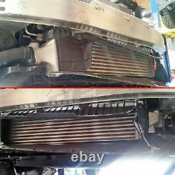 Rev9 Upgraded Front Mount Turbo Intercooler For 16-20 Honda CIVIC 1.5l Fc Black