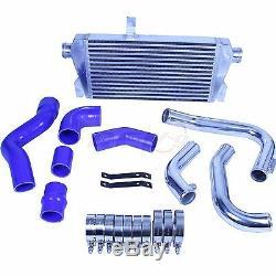 Rev9 V2 Front Mount Turbo Intercooler Kit For Audi 02-05 A4 1.8t 400hp Fmic