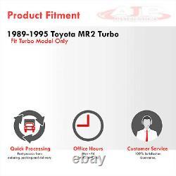 Side Mount Aluminum Turbo Race Intercooler For 1989-1995 Toyota MR2 SW20 3S-GTE