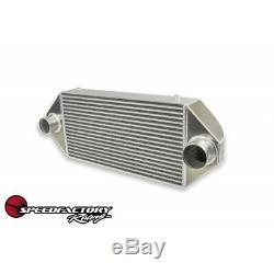 SpeedFactory Standard Dual Backdoor Front Mount Intercooler 3 Inlet / 3 Outlet