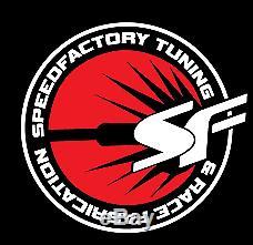 SpeedFactory Vertical Flow Front Mount Intercooler 800hp Rated RSX K20 K24 TSX