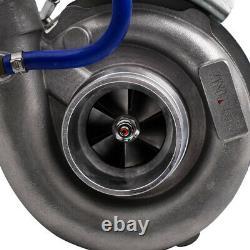 Standard T3/ T4 4-Bolt Turbo Charger Kit + 27x7x2.5 Intercooler +2.5 Turbo Pipe