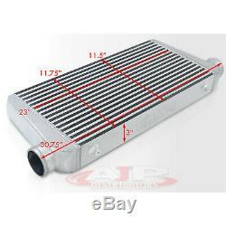 Tig Welded Big Bar Plates Intercooler Tmic Fmic Top Front Mount High Flow System