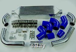 Toyosports Front Mount Intercooler Kit Vauxhall Astra Mk5 Vxr 2.0t 04-09 Blue