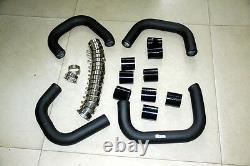 Turbo Front Mount Intercooler Piping Kit 1997-2001 Audi B5 S4 RS4 FMIC C5 A6 2.7