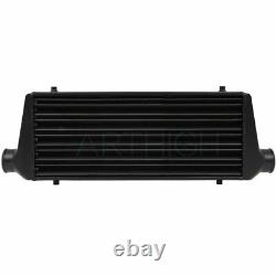 Turbo Intercooler Black 27.675X8.5X2.75 Inch Tube&Fin Fmic Front Mount