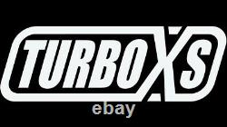 Turbo XS for Front Mount Intercooler Kit Wrinkle Red Pipes 2015+ Subaru STi