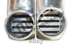 Universal Alloy Intercooler 600x300x100mm high-performance front mount FMIC