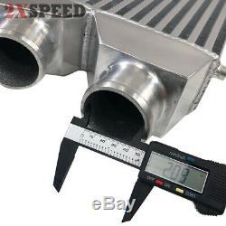 Universal Aluminum Front Mount TWIN TURBO BAR&Plate Intercooler 32X12X3 FMIC