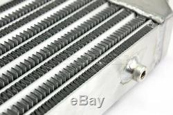Universal Aluminum Turbo Front Mount Bar & Plate 12x6.25x2.5 Intercooler